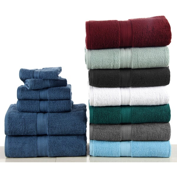 100-percent Egyptian Cotton Bano Senses 600 GSM 6-piece Towel set (As Is Item)