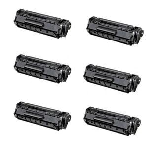 Canon 128 (3500B001AA) Black Compatible Toner Cartridge D550 MF4450 MF4570dn (Pack of 6)
