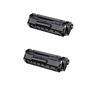 Canon 128 (3500B001AA) Black Compatible Toner Cartridge D550 MF4450 MF4570dn (Pack of 2)