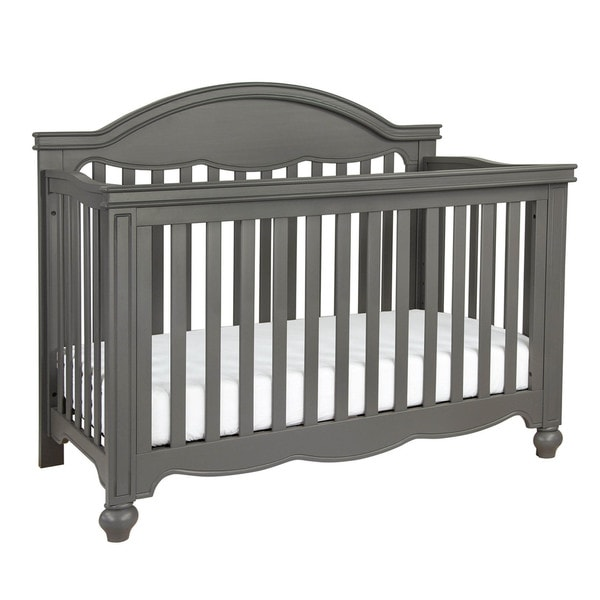 Million Dollar Baby Etienne 4-in-1 Convertible Crib with Toddler Rail