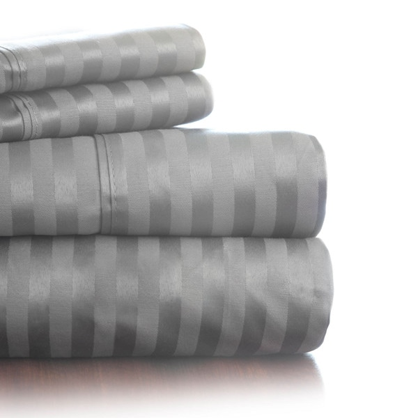 Windsor Home 300 Thread Count Cotton Sateen Sheet Set (As Is Item)