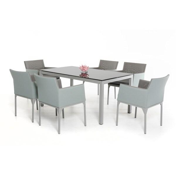 Renava Cyan Outdoor Dining Set
