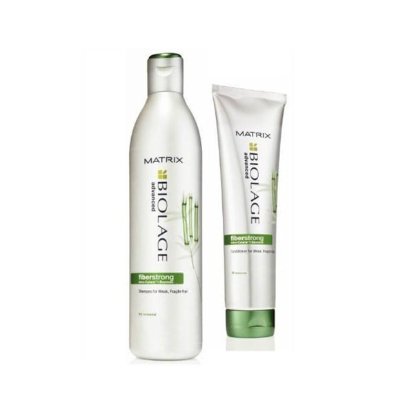 Matrix Biolage Advanced Fiberstrong Bamboo 13.5-ounce Shampoo and Conditioner