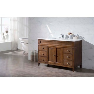 Stufurhome Hamilton 49 Inch Single Sink Bathroom Vanity