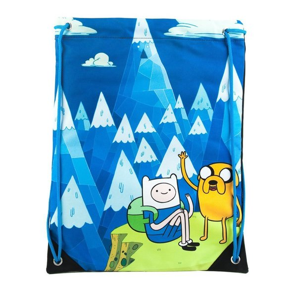 Adventure Time Finn Big Face Drawstring Backpack