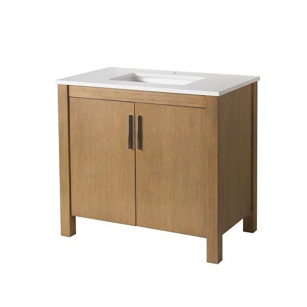 stufurhome windsor 37 inch single sink bathroom vanity