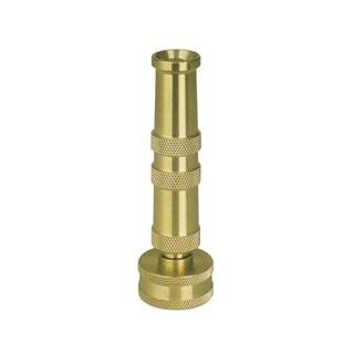 Sun Joe 4-inch Solid Brass Heavy Duty Twist Hose Nozzle