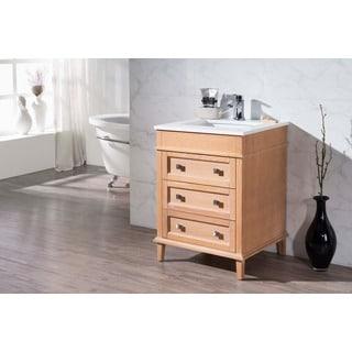 Stufurhome Norwood 25 Inch Single Sink Bathroom Vanity