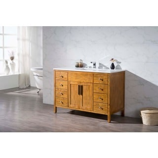 Stufurhome Evangeline 49 Inch Single Sink Bathroom Vanity