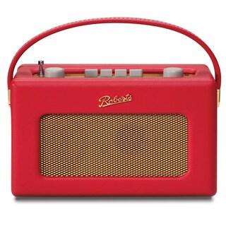 Robert's Radio 1950's Style Red Leather Finish Retro Radio