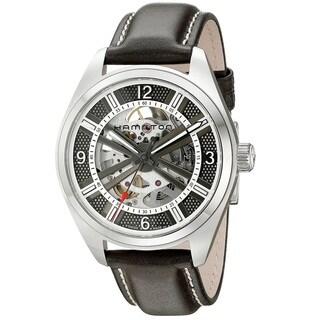 Hamilton Men's H72515585 Khaki Field Silver Watch
