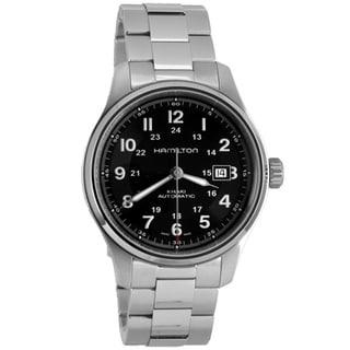 Hamilton Men's H70525133 Khaki Field Titanium Black Watch