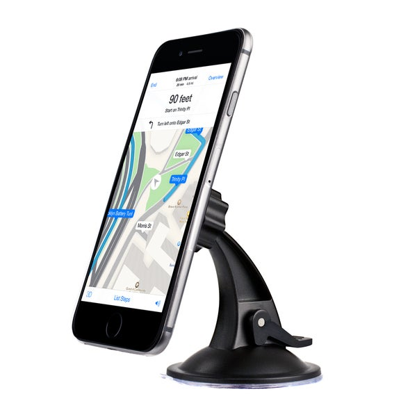 Universal Magnetic Windshield Mount for Smartphones