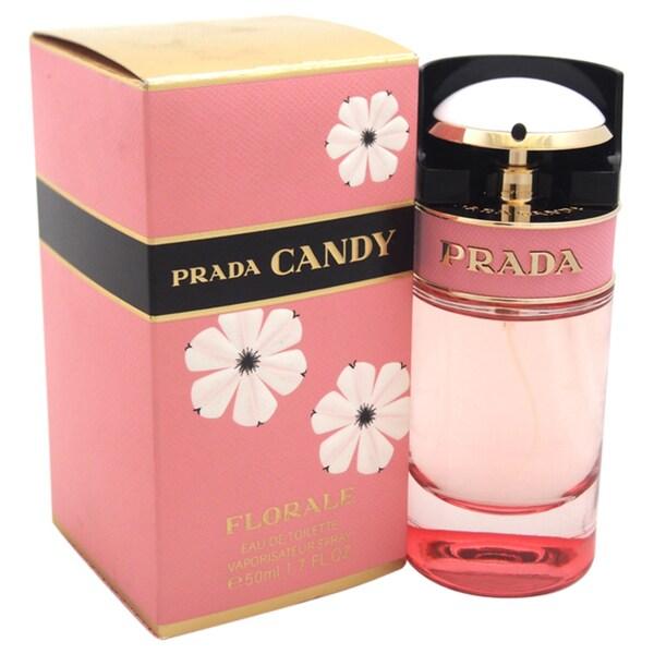 Prada Candy Florale Prada Women's 1.7-ounce Eau de Toilette Spray