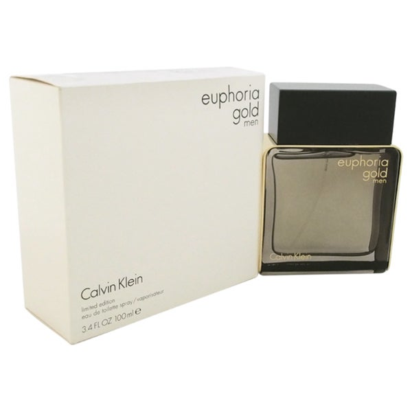 Calvin Klein Euphoria Gold Men's 3.4-ounce Eau de Toilette Spray Limited Edition (Tester)