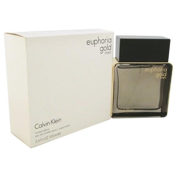 Calvin Klein Euphoria Gold Men's 3.4-ounce Eau de Toilette Spray Limited Edition (Tester)