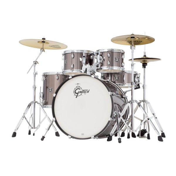 Gretsch Energy 5-piece Grey Steel Drum Set