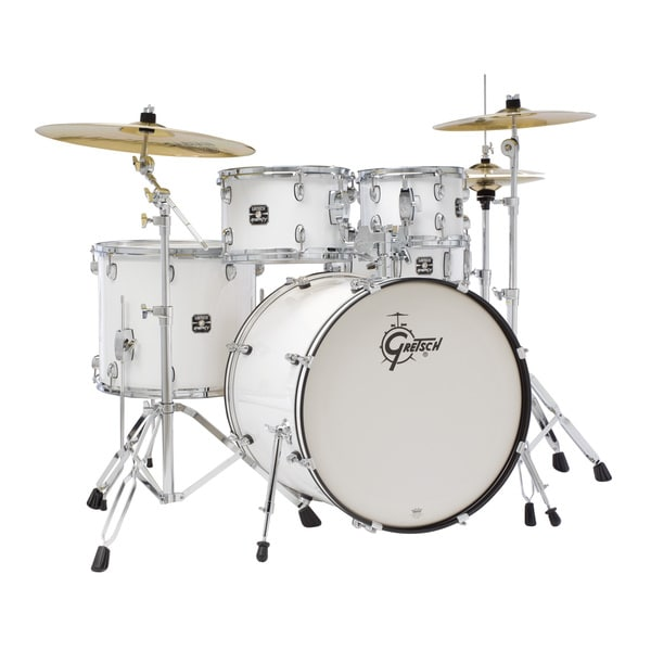 Gretsch Energy 5-piece White Drum Set