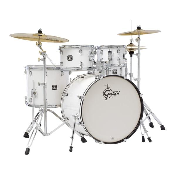 Gretsch Energy 5-piece White Drum Set