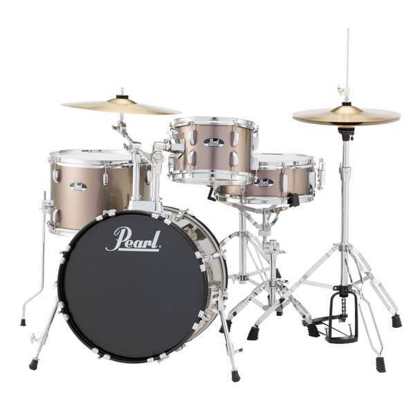 Pearl Roadshow Rs584 4-piece Bronze Drum Set
