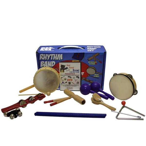 Rhythm Band Bb225rs Bing Bang Boom 10-player Rhythm Kit
