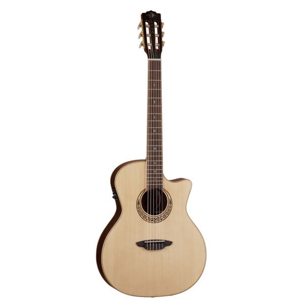 Luna Muse Nylon String Acoustic/ Electric Guitar