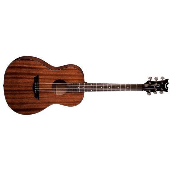Dean Axs Parlor Mahogany Guitar