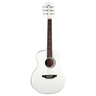 Luna Aurora Borealis 0.75 White Guitar