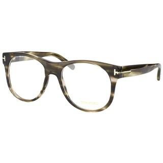 Tom Ford Men's FT 5314 020 Grey Horn Eyeglasses