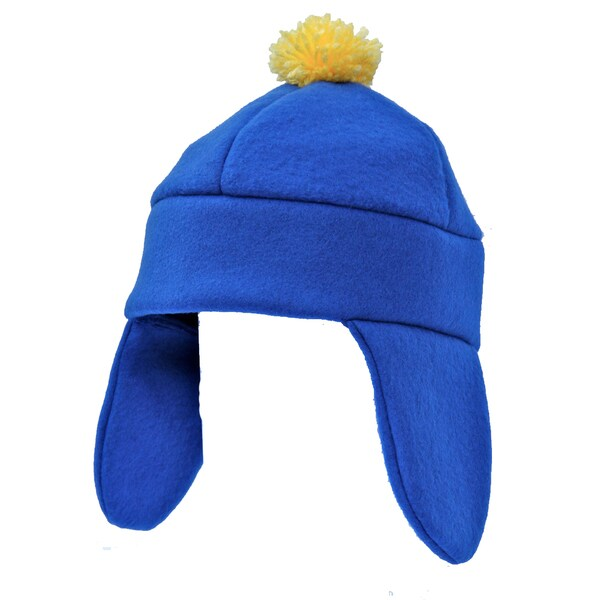 South Park Craig Tucker Blue Fleece Ski Cap Costume
