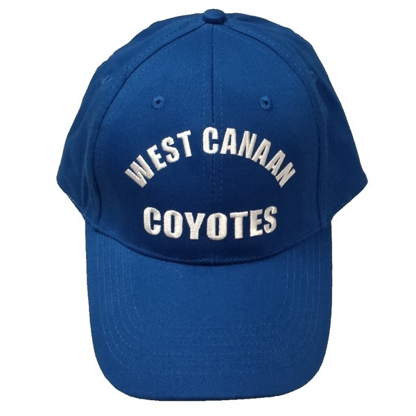 Arsity Blues West Canaan Coyotes Baseball Hat