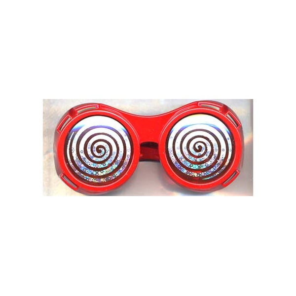 Red Round Hypnotize X-ray Vision Glasses 15920938