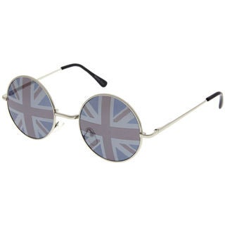 Adult British Flag Round Sunglasses