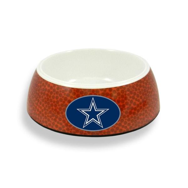 Dallas Cowboys Football 5-cup Pet Bowl
