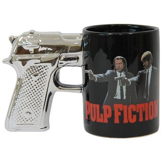 Pulp Fiction Gun Handle Coffee Mug