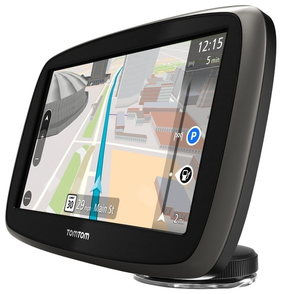 TomTom Go 60S 6-inch GPS Receiver with Built-In Bluetooth and Lifetime Traffic and Map Updates with Accessory Kit (Bulk Package)