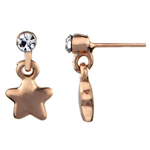 Petite Star Dangle Earrings