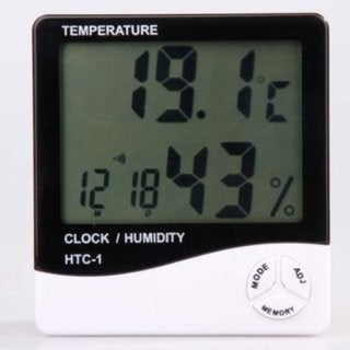 Canary Products Hygrometer/ Thermometer Alarm Clock 15921282