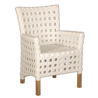 Decorative Sacramento White Modern Indoor/Outdoor Chair