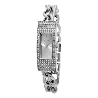 SO&CO New York Women's Madison Quartz Stainless Steel Crystal Bracelet Watch