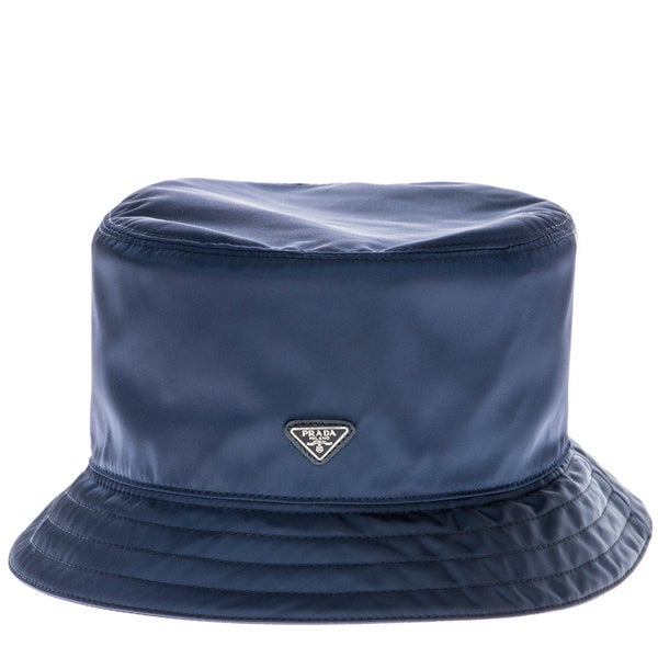 Prada Tessuto Nylon Navy Bucket Hat