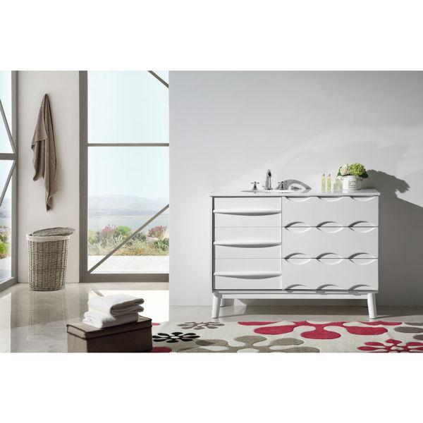legion furniture 48 inch solid wood sink vanity with