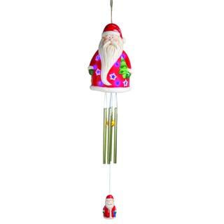 Santa Claus Solar LED Wind Chime