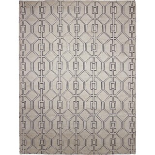 Hand-knotted Moroccan Otmane Ivory Rug (9'2 x 12'0)