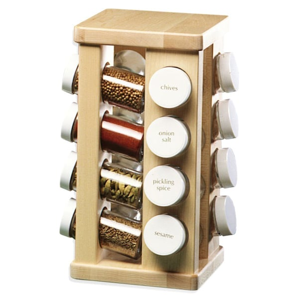 J.K. Adams 16 Bottle Spice Carousel