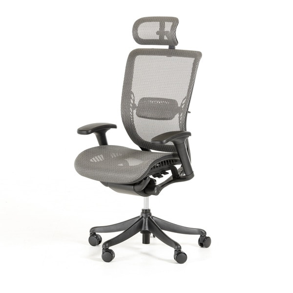Modrest Wright Modern Grey Office Chair