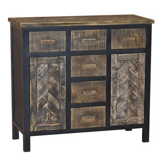 Gallerie Décor Wovenwood Six Drawer Cabinet