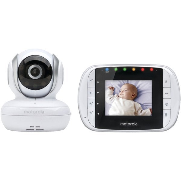Motorola MBP41 Remote Wireless Video Baby Monitor