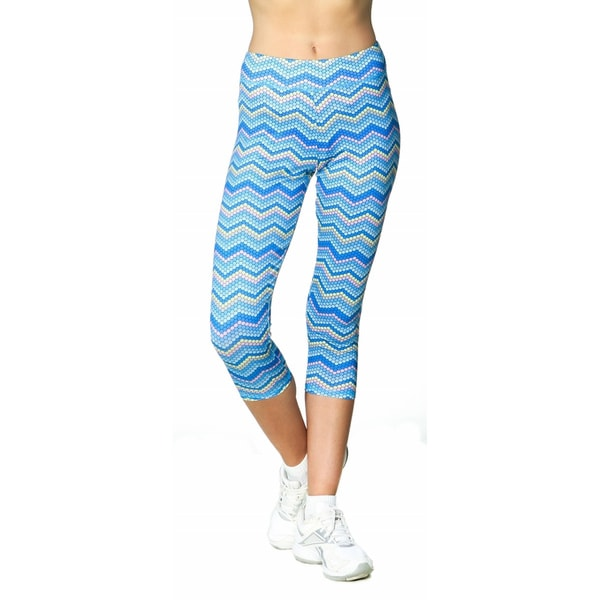 Women's High Performance Chevron Capri