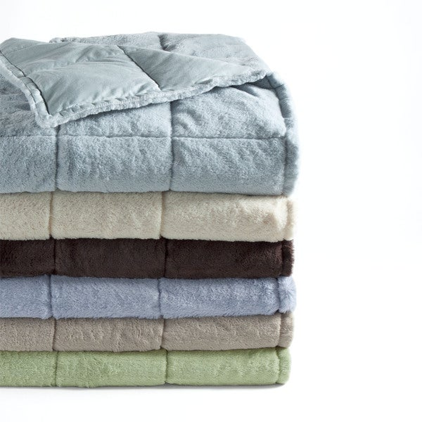 Super Snuggly Soft Plush Down Throws - 17499325 - Overstock.com